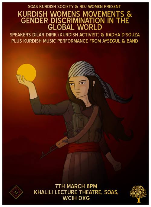 Kurdish Women's Movements Seminar poster_March 2014